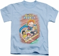 Archie Comics kids t-shirt Rainy Day Hero light blue