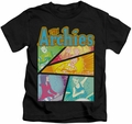 Archie Comics kids t-shirt The Archies Colored black