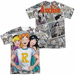 Archie Comics mens full sublimation t-shirt Archie And Gals