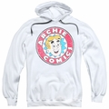 Archie Comics pull-over hoodie Archie Comics adult white