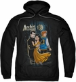 Archie Comics pull-over hoodie Cover #146 adult black