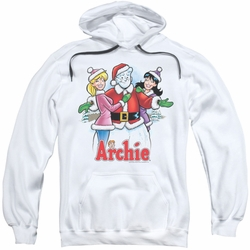 Archie Comics pull-over hoodie Cover 223 adult white