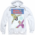 Archie Comics pull-over hoodie Cover 257 Snow Angels adult white