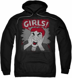 Archie Comics pull-over hoodie Girls! adult black