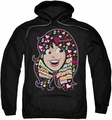 Archie Comics pull-over hoodie Inside V's Head adult black