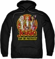 Archie Comics pull-over hoodie Power Trio adult black