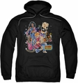 Archie Comics pull-over hoodie Pussycats Rock adult black