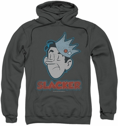Archie Comics pull-over hoodie Slacker adult charcoal