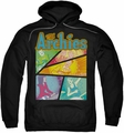 Archie Comics pull-over hoodie The Archies Colored adult black