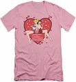 Archie Comics slim-fit t-shirt Archie's Girls mens pink