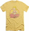 Archie Comics slim-fit t-shirt Betty Distressed mens banana