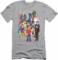 Archie Comics slim-fit t-shirt Cast mens silver