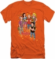Archie Comics slim-fit t-shirt Colorful mens orange