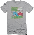Archie Comics slim-fit t-shirt Conserve Energy mens silver