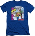 Archie Comics slim-fit t-shirt Crazy Sweater mens royal