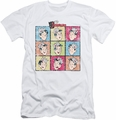 Archie Comics slim-fit t-shirt Jug Heads mens white