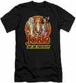 Archie Comics slim-fit t-shirt Power Trio mens black