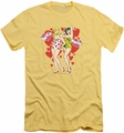 Archie Comics slim-fit t-shirt Smack Mwah mens banana