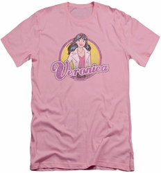 Archie Comics slim-fit t-shirt Veronica Distressed mens pink