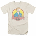 Archie Comics t-shirt Achie Distressed mens cream