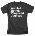 Archie Comics t-shirt Ampersand List mens black