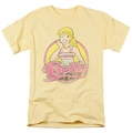 Archie Comics t-shirt Betty Distressed mens banana