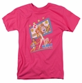 Archie Comics t-shirt Big Screen Rock mens hot pink