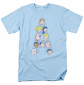 Archie Comics t-shirt Character Heads mens light blue