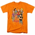 Archie Comics t-shirt Colorful mens orange