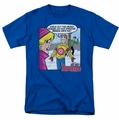 Archie Comics t-shirt Crazy Sweater mens royal