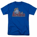 Archie Comics t-shirt Distressed Archie Logo mens royal