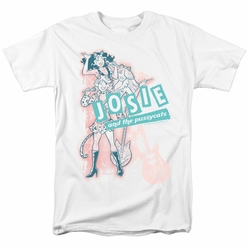 Archie Comics t-shirt Glam Rockers mens white