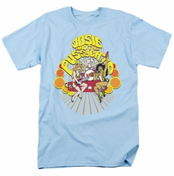 Archie Comics t-shirt Groovy Rock & Roll mens light blue