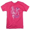 Archie Comics t-shirt Its Pussycat Time mens hot pink