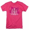 Archie Comics t-shirt Kitty Band mens hot pink