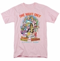 Archie Comics t-shirt One Night Only mens pink