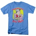 Archie Comics t-shirt Pig Out mens carolina blue