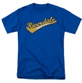 Archie Comics t-shirt Riverdale High School mens royal