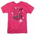 Archie Comics t-shirt Star Rockers mens hot pink