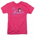 Archie Comics t-shirt Team Veronica mens hot pink