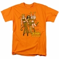 Archie Comics t-shirt Tiger Stripes mens orange
