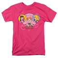 Archie Comics t-shirt Two Is Better mens hot pink