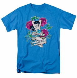 Archie Comics t-shirt Veronica Tattoo mens turquoise