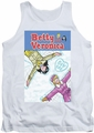 Archie Comics tank top Cover 257 Snow Angels adult white