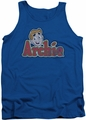 Archie Comics tank top Distressed Archie Logo adult royal