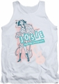Archie Comics tank top Glam Rockers adult white