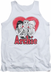 Archie Comics tank top Milkshake adult white