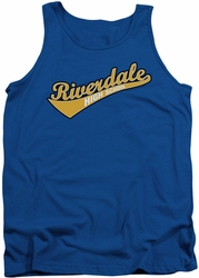 Archie Comics tank top Riverdale High School adult royal