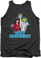 Archie Comics tank top Why Choose adult charcoal