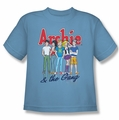 Archie Comics youth teen t-shirt And The Gang carolina blue